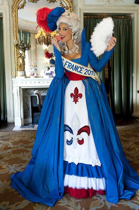 Hoa hậu Pháp.
