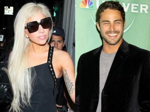 Lady Gaga và bạn trai mới, Taylor Kinney. Ảnh: WEN.