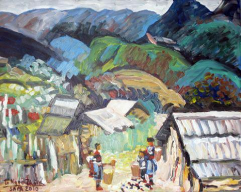 """""""Đường về phố núi""""."""