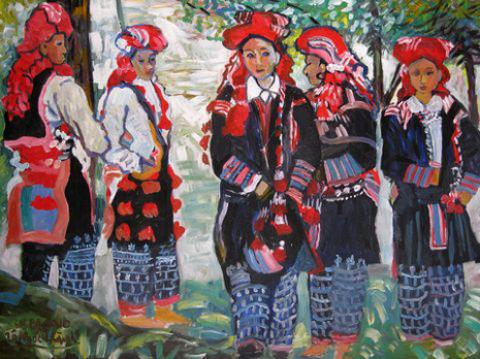 """""""5 cô gái Hmong""""."""