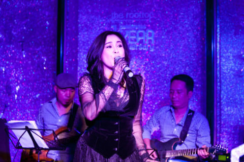 Người bạn cũ của Hồng Nhung cũng góp mặt trong đêm nhạc.