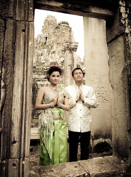 Angkor Wat là khu đền ở tỉnh Siem Reap, Campuchia.