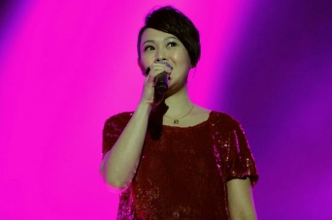 Ca sĩ Lưu Nhược Anh.