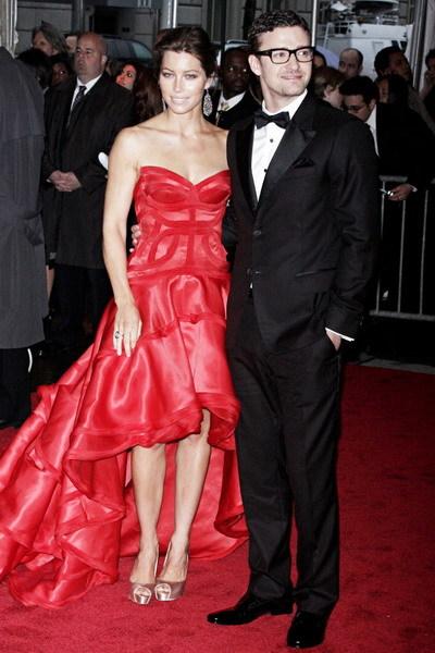 Justin Timberlake và Jessica Biel đã đính hôn. Ảnh: WEN.