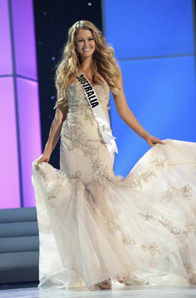 Hoa hậu Australia.