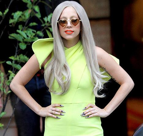 Nữ ca sĩ Lady Gaga. Ảnh:US.