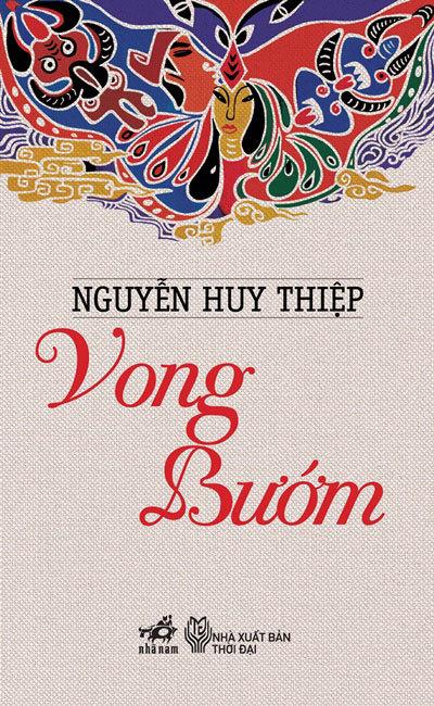 Bìa cuốn 'Vong bướm' của Nguyễn Huy Thiệp.