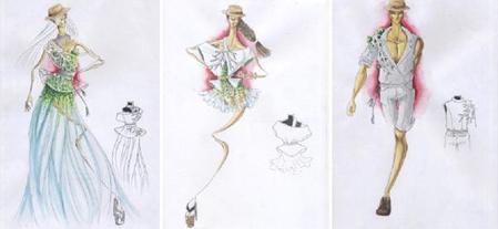 """Trong chủ đề mùa hè, bộ sưu tập """"Mùa hoa Belvedere nở"""" của Trương Hồng Thắng tập trung vào sắc hoa rực rỡ tươi vui. Với ý tưởng nhánh cây Belve nở ra những bông hoa rực rỡ, bộ sưu tập muốn thể hiện tinh thần chủ đạo: giúp con người toả sáng, tự tin vào bản thân, dám thể hiện mình giống như những bông hoa trong nắng hạ."""