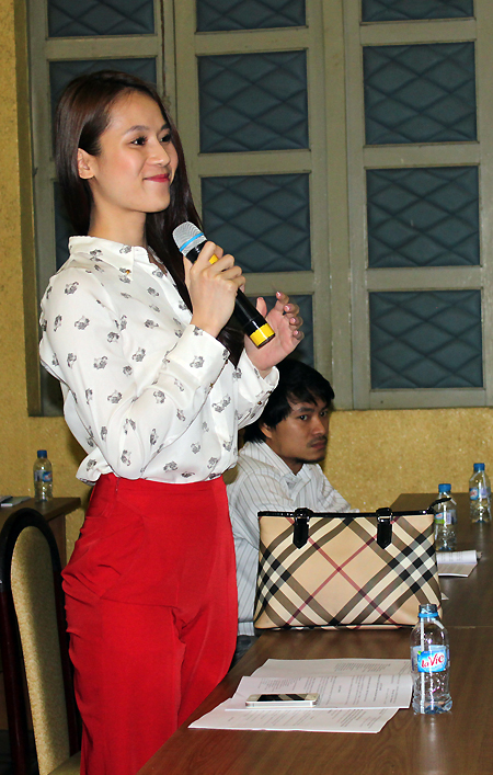 Thái Hà vui khi được cơ quan chức năng giải thích rõ về tin đồn cắm biểu diễn, xuất hiện trên truyền hình.