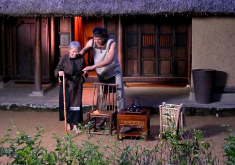 Bối cảnh phim mang đậm nhiều hình ảnh thôn quê Việt Nam.