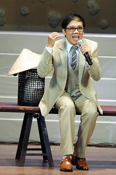 """NSƯT Thành Lộc giữ vai trò quan trọng trong chương trình """"tạ ơn cuộc đời""""."""