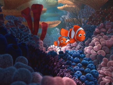 Hai cha con cá hề Marlin và Nemo. Ảnh: Pixar.
