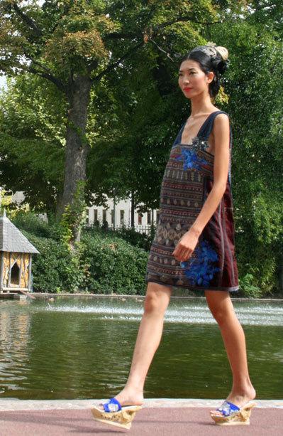 Người mẫu Trang Phạm.
