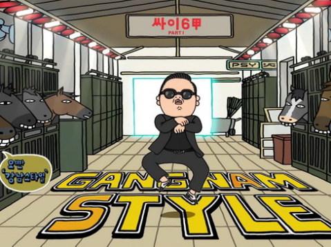Điệu nhảy ngựa của Psy trong