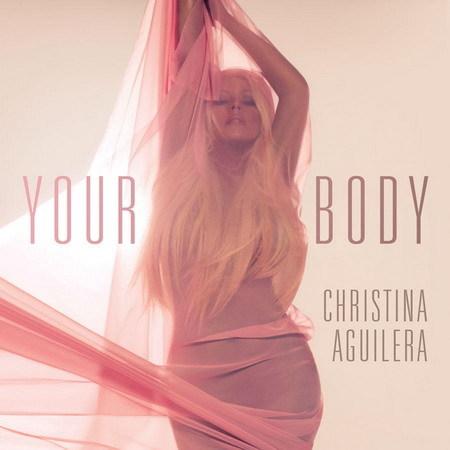 Christina gần như khỏa thân trên bìa đĩa