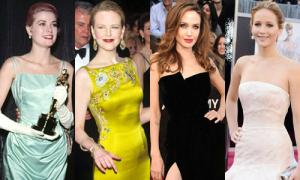 Sự biến đổi của váy áo thảm đỏ trong lịch sử Oscar