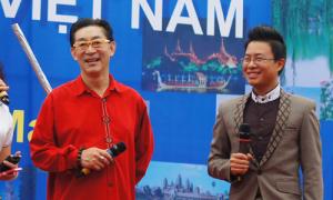 Lục Tiểu Linh Đồng tái hiện hình ảnh Tôn Ngộ Không tại Hà Nội
