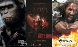 12 phim chiếu rạp Việt Nam trong tháng 7