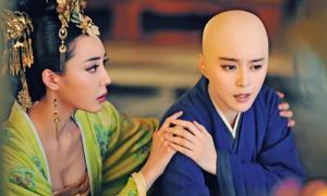 Phạm Băng Băng xuống tóc trong 'Võ Mỵ Nương truyền kỳ'