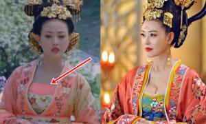 TVB gây bàn tán vì cách che cảnh nhạy cảm trong 'Võ Mỵ Nương'