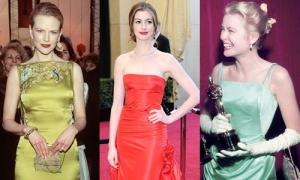 10 bộ váy đắt giá nhất lịch sử thảm đỏ Oscar