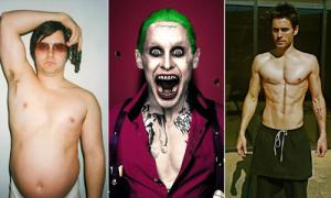 Jared Leto - nam diễn viên hành xác cho từng vai diễn