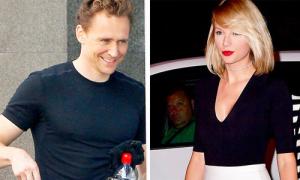 Tom Hiddleston cười tươi sau khi chia tay Taylor Swift