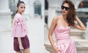 Hai quán quân Next Top Model đọ thời trang đường phố