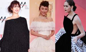 Loạt sao châu Á bị dìm dáng vì váy áo rườm rà, kém sang