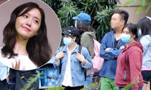 Fan chờ giữa trưa đón Yoona SNSD đến Việt Nam