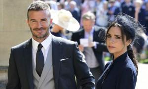 Vợ chồng Victoria Beckham và dàn sao dự đám cưới Hoàng tử Harry