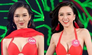 Sắc vóc 11 cô gái cao từ 1,7 m tại chung kết Hoa hậu Việt Nam