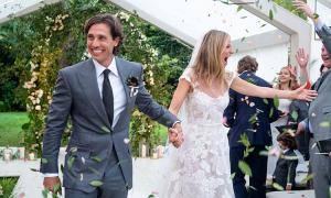 Trang phục trong lễ cưới bí mật của Gwyneth Paltrow