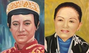 Thanh Sang, Út Bạch Lan và hơn 100 nghệ sĩ qua tranh sơn dầu