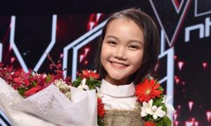Học trò Hồ Hoài Anh đăng quang Giọng hát Việt nhí