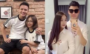 Thời trang đồ đôi của các cầu thủ Việt Nam và người yêu