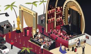 Nghìn người gấp rút chuẩn bị lễ trao giải Oscar