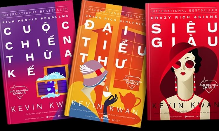 Bộ tiểu thuyết về giới siêu giàu châu Á ra mắt tại Việt Nam - VnExpress  Giải trí