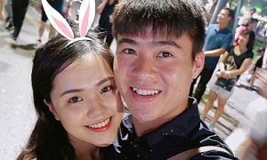 Duy Mạnh và bạn gái dự 'Tuần lễ trang sức DOJI 2019'