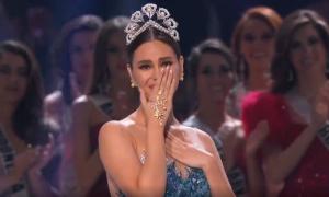 Catriona Gray khóc chia tay nhiệm kỳ hoa hậu