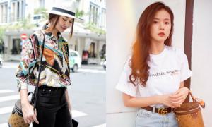 Sao Việt thích túi 'cặp lồng' giá nghìn USD