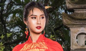 Đỗ Trịnh Hoài Nam đưa di sản văn hóa Việt lên áo dài