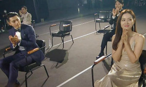 Sao ngồi cách xa ở lễ trao giải Baeksang