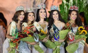 Hoa hậu Trái đất Philippines thi trực tuyến