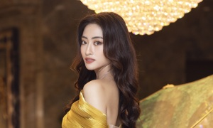 Hoa hậu Lương Thuỳ Linh làm giám đốc dự án bất động sản