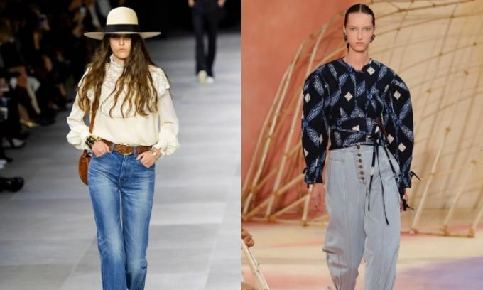 Những kiểu quần jeans nổi trội năm nay