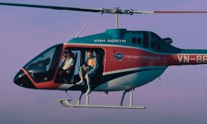 Đen Vâu rap trên trực thăng