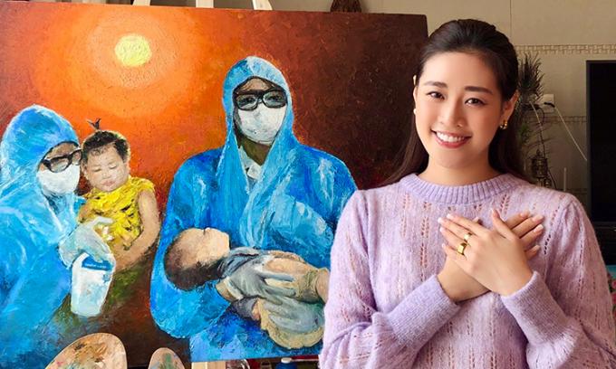 Khánh Vân xin lỗi vì vi phạm bản quyền ảnh