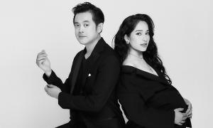 Vợ Dương Khắc Linh chụp ảnh mang bầu 8 tháng