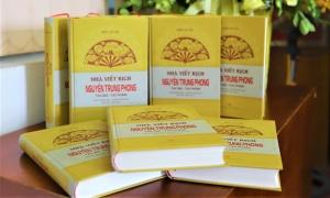 Sách về tác giả kịch hát ví, giặm Nguyễn Trung Phong